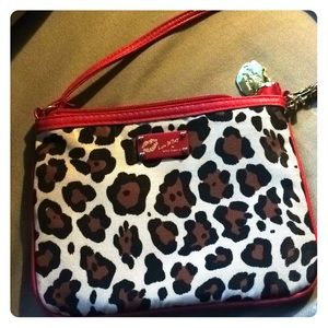 Luv Betsy, Betsy Johnson Leopard 🐆 &red purse 👛